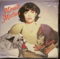 """45 Tours SP - MIREILLE MATHIEU - ARIOLA 105677  """" JE VEUX L´AIMER """" + 1 ( Pochette Poster ) - Vinyles"""