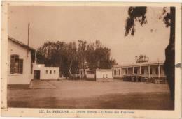 CPA  POST CARD N°122 - LA PEROUSE TAMENTFOUST ALGERIE - Cerntre Siroco - L' Ecole Des Fusiliers - Autres Villes