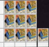 Tag Der Briefmarke 2003 Serbien/ Montenegro 3152 Plus 9-Block ** 30€ MICHEL Und WWF-Katalog Bloc Sheetlet Bf YUGOSLAVIJA - Montenegro