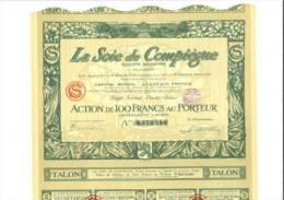 La Soie De Compiègne 3 Février 1928 - Autres