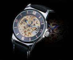 Alias Kim MONTRE AUTOMATIQUE SQUELETTE - Watches: Modern