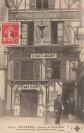 TOUT PARIS N° 66 Bis XVIII  Bd De CLICHY CAVEAU Du CHAT NOIR  La Douloureuse CONTRAVENTION Affiche Des Spectacles  1908 - District 18