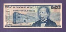 MEXICO 1979 UNC  Banknote  50 Pesos KM726a - Mexico