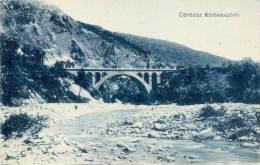 AK Körösmezö Jassinja Ca. 1920 (?) Brücke Fluß - Üdvözlet Körösmezöröl - Vorokhta Kvasy Rakhiv - Ukraine