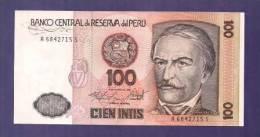 PERU 1986 UNC Banknote  100 Intis Km 131 - Peru