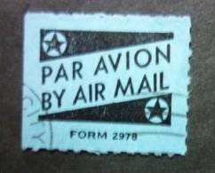 U.S.A. - Labels / Vignettes: Par Avion - Air Mail - Form 2978 - FREE SHIPPING ABOVE 10 EURO - United States