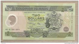 Is. Salomone - Banconota Commemorativa Non Circolata Da 2 Dollari - 2001 - Polymer - Isola Salomon