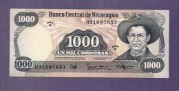 Nicaragua 1985 UNC  Banknote  1000 Cordobas Km128 - Nicaragua