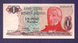 ARGENTINA 1983,  Banknote,  UNC. 1 Peso Argentina Km311 - Argentinië
