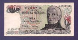 ARGENTINA 1983,  Banknote,  UNC, 10 Pesos Argentina Km313 - Argentina