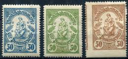 GERMANY - 3 Old Charity Stamps - Deutschland