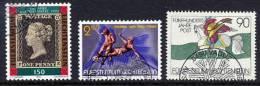 LIECHTENSTEIN 1990  Three Issues Used.  Michel 986, 987, 1004 - Liechtenstein