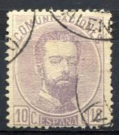 SPAIN 1872 - Yv.119 (Mi.113, Sc.180) Used (not Verified) - 1872-73 Regno: Amedeo I