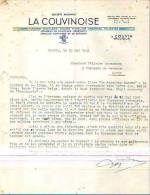 Couvin - 1941 - La Couvinoise - Fonderie-emaillerie-toler Ie - Unclassified