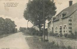 Arcomps 110 Bureau De Poste De Fosse Nouvelle  PTT   Edit Beguin EMB Ecrite - France
