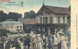 MONDORF 1907  SOUVENIR DE MONDORF LES BAINS         TRES BELLE CARTE !!!! - Mondorf-les-Bains