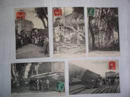 """cyclone Du 19 Août 1912"" - Carcassonne"