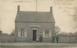 Dejointes La Poste  PTT  Gaudin Edit. Envoi De Juliette Jacques A La Verrieres Par Nerondes - France