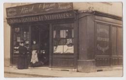 YVETOT (?) - Carte Postale Photographique Devanture RAOUL CHANU - Bonneterie - Mercerie - Teinturerie - Parfumerie - Yvetot