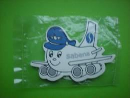 RARE Magnet De La Sabena Encore Emballé - Vliegtuigen