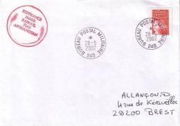 Bureau Postal Militaire 240 - Sellos Militares Desde 1900 (fuera De La Guerra)