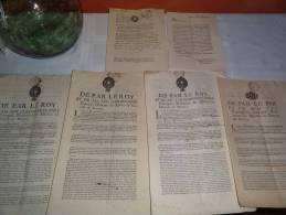 Impots Royaux - Historische Dokumente