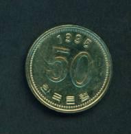 SOUTH KOREA  -  1995  50 Won  Circulated As Scan - Korea, South
