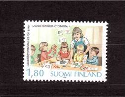 1988 FINLAND  Children Garden  Michel Cat N° 1065 Absolutely Perfect MNH - Unclassified