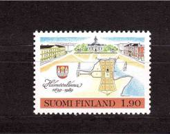 1989 FINLAND  Hameenlinna  Michel Cat N° 1069 Absolutely Perfect MNH - Unclassified