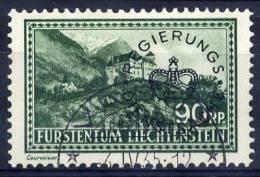 LIECHTENSTEIN 1935 Official 90 Rp. Used.  Michel 18 - Official
