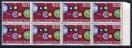 LIECHTENSTEIN 1961 Europa Block Of 8 MNH / **.  Michel 414 - Liechtenstein