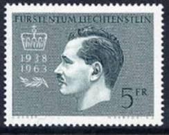 LIECHTENSTEIN 1963 25th Anniversary Of Franz Josef II MNH / **.  Michel 427 - Liechtenstein