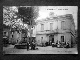 SAINTE CECILE PLACE DE LA MAIRIE - Autres Communes