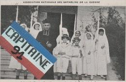 A JUAN LES PINS ALPES MARITIMES PREMIERE COMMUNION DES ORPHELINS DE LA GUERRE X - Juan-les-Pins