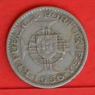 ANGOLA  2,5  ESCUDOS  1956   KM# 77  -    (1161) - Angola