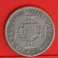 MOZAMBIQUE  2,5  ESCUDOS  1953   KM# 78  -    (1164) - Mozambique