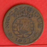 MOZAMBIQUE  1  ESCUDOS  1957   KM# 82  -    (1167) - Mozambique