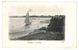 B159 LAZIO ANZIO PORTO 1915 VIAGGIATA - Altre Città