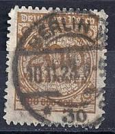 Empire - YT 309 Oblitéré / Deutsches Reich Mi. Nr. 323B Gestempelt - Germania