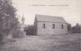 21283 BEIGNON -  Chapelle Et Tour De L'église -4 éd ?