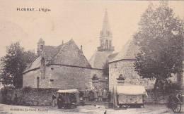 21289 Plouray L'église . Le Cunf Pontivy - Petit Marché Cabane