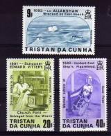 Tristan Da Cunha - 1986 - Shipwrecks (2nd Series) - MNH - Tristan Da Cunha