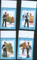 San Marino 2005  Milizia Uniformata 4v Complete Set  Uniform ** MNH - Nuevos