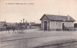 21297 PIRIAC SUR MER - 44 France - LA GARE  . 71 Chapeau -attelage - Gares - Sans Trains