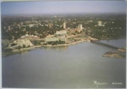 C. Postale : NIGER - NIAMEY - Vue Aérienne (1988) - Niger