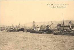 Nov12b 1308 : Rouen  -  Port  -  Quai Gaston-Boulet - Rouen