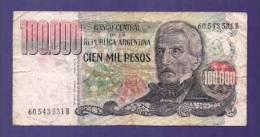ARGENTINA 1979,  Banknote,  Used VG. 100.000 Pesos Km308 - Argentina