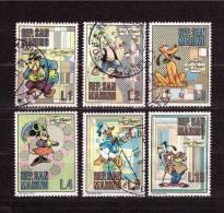 SAN MARINO Selection Of  6  Disney Stamp - Disney