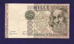 ITALY 1982,   Banknote, Used VF,  1 000 Lira Km83 - [ 2] 1946-… : Républic