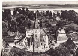 1037 En Avion Au-dessus Greuville, L'église - France